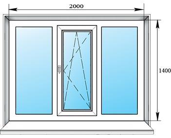 Окна на лоджию рисунок.