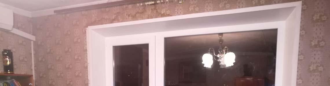 Заменить откосы на окнах